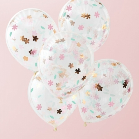 balony floral